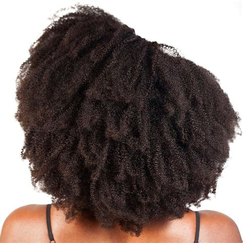 how to wesr thin wiry hair natural kinky curly natural hair clip in weft extensions 4b 4c
