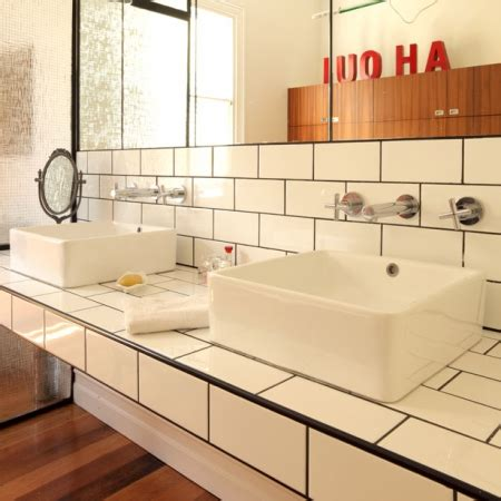Modern Retro Bathrooms Interiors Redonline Red Online Modern Retro Bathroom