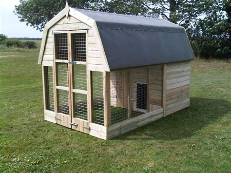 dog house styles dutch barn dog kennel