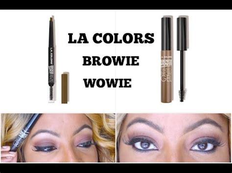Sale La Colors Browie Wowie Brow Tinted Gel Soft Brown la colors browie wowie brow pencil tinted brow gel