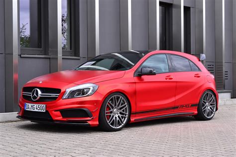pink mercedes amg a45 amg s to get 385 hp and a new bumper to compete with