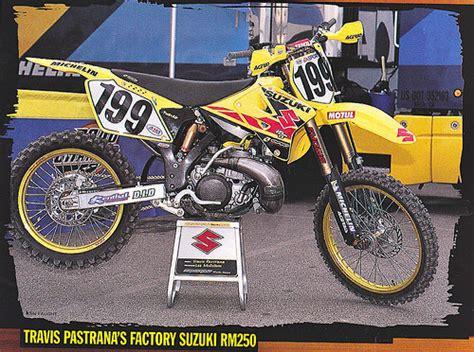 Travis Pastrana Suzuki Travis Pastrana S 2001 Factory Suzuki Rm250 Flickr