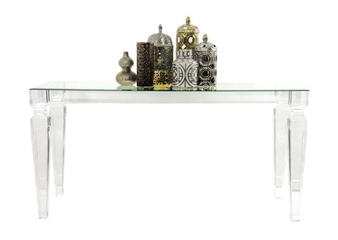 Perspex Console Table Lucite Console Table Modshop