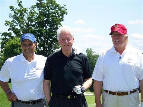 Clinton House Chappaqua by Bill Clinton Loves Donald Trump Golf Course