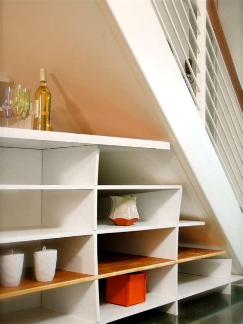 rangement sous 騅ier cuisine rangement sous escalier 97 id 233 es et solutions cr 233 atives