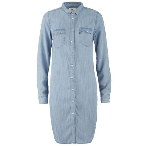 womens light wash levi jeans levi s women s iconic western dress tencel denim light