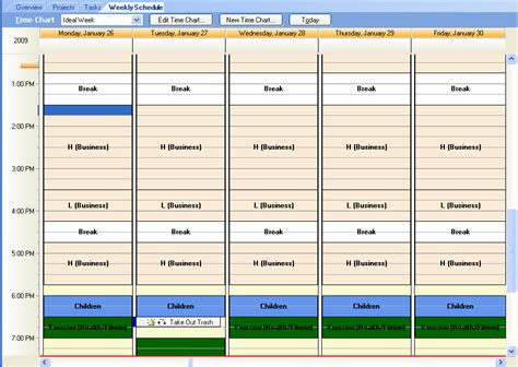 planning time charts ap tour use achieve planner for weekly planning