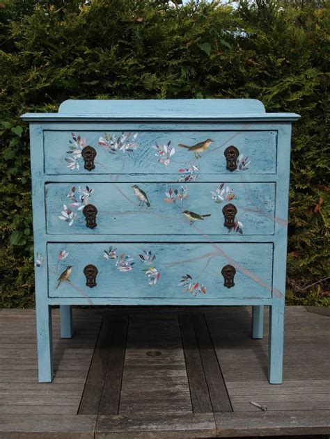 37 best images about chest of drawers painted decoupage shabby chic distressed vintage on