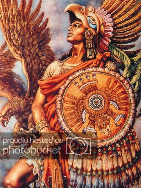 aztec warrior with marine corps emblem on his shield by gudu ngiseng mexican aztec tattoos