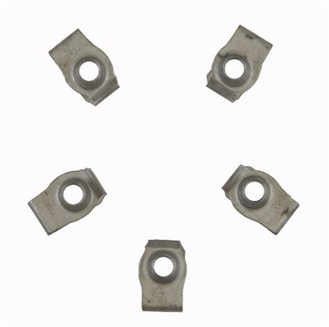 gm clip on retainers pack of 5 new oem m8 x 1.25 17mm x