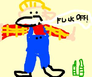 donald trump x bob the builder bob the builder had to much to drink drawing by anton