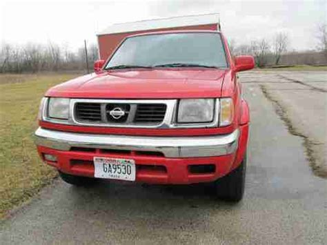 2000 nissan frontier wheels find used 2000 nissan frontier extended cab 4 wheel drive