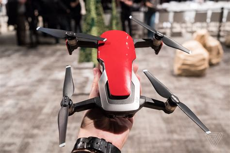 djis newest  folding drone costs   verge