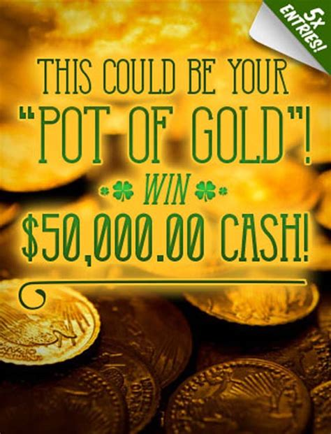 Gold Giveaway - the pch pot of gold giveaway sweepstakes pit