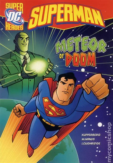 from superman to books dc heroes superman meteor of doom tpb 2013 comic