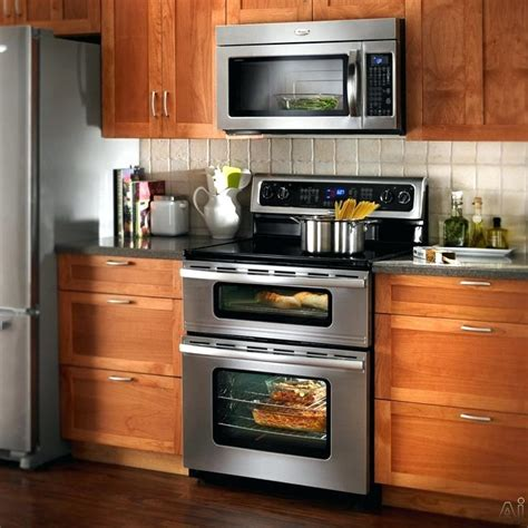 do over the range microwaves have fans over the range microwaves with front vent broan range