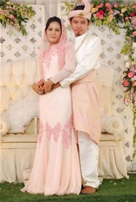 Baju Kebaya Akad Nikah Muslim Simple 1000 images about baju nikah on baju kurung veils and veils
