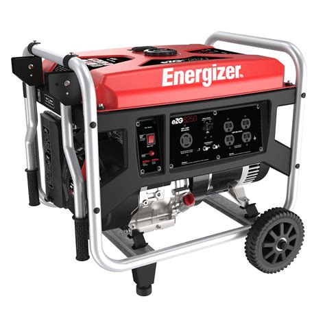 energizer ezg6250 6 250 watt gasoline powered portable