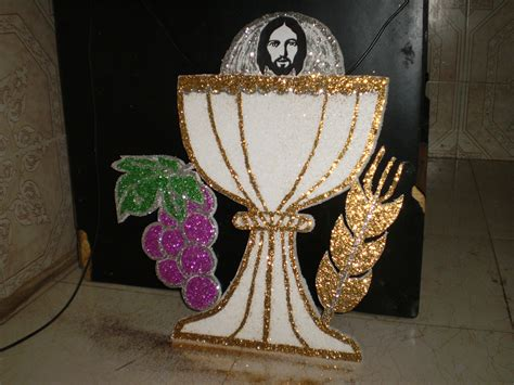 Holy Communion Decorations by Holy Communion Backdrop Decoration Rs 300