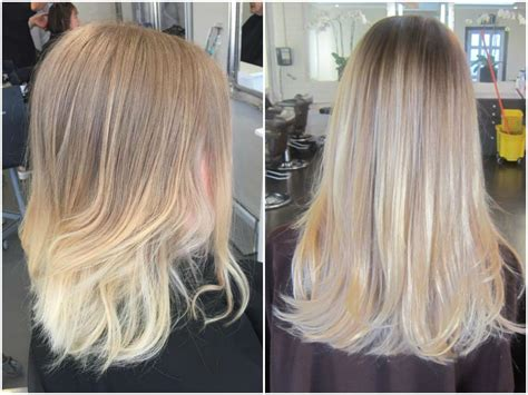 blonde balayage highlights straight hair bright blonde balayage straight hair www pixshark com