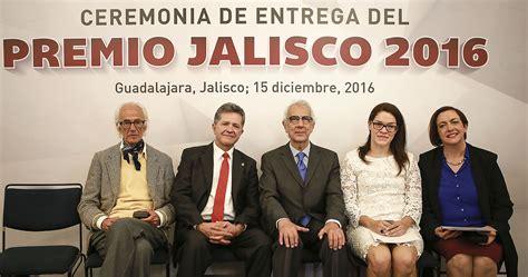 quienes reciben gratificacion2016 universitarios reciben premio jalisco 2016 universidad