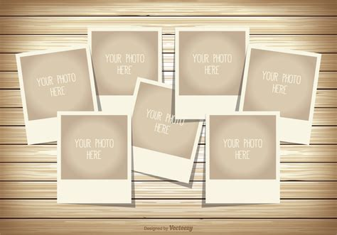 Free Photo Templates photo collage template free vector stock