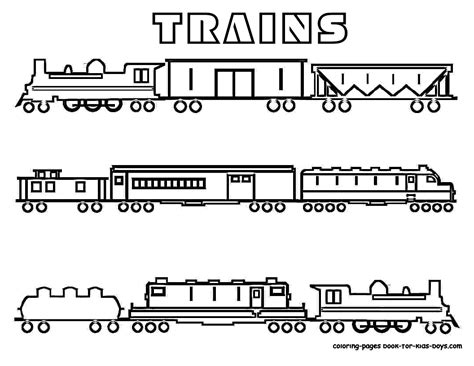 coloring pictures of train cars free coloring pages of train cars