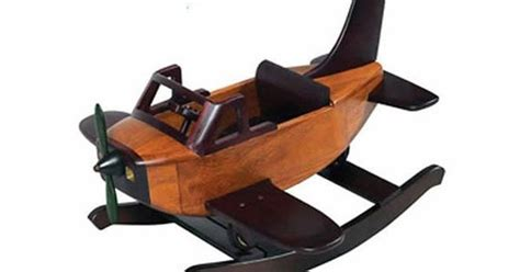 wooden airplane rocker plans plans diy