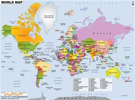 world map key cities geogiams12 key elements