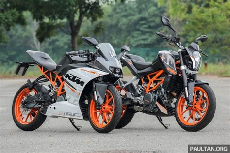 Ktm Duke Price In Malaysia Review 2016 Ktm Duke 250 And Rc250 Handling And