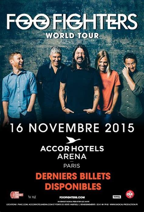 foo fighters ticket sale foo fighters new tickets accorhotels arena
