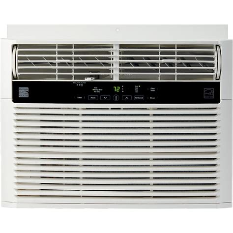 sears wall mounted air conditioner kenmore elite 76180 18500 btu 230v window mounted large