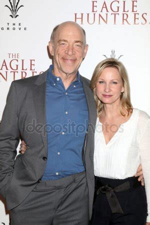 j.k. simmons and michelle schumacher – stock editorial