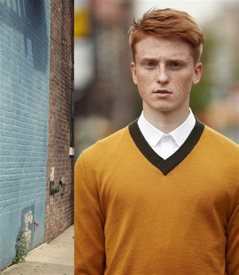 mens fashion for gingers men sweaters ginger style barneys new york resurrects