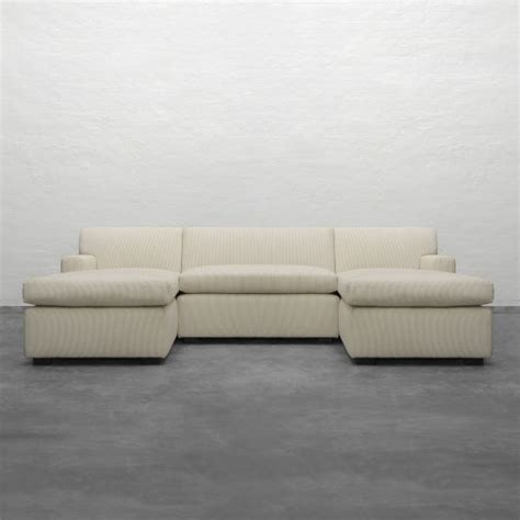 dual chaise sectional large u shape sectional with double chaise manor