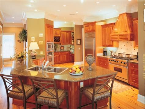 center kitchen house plans kitchen floor plans kitchen design house plans and more
