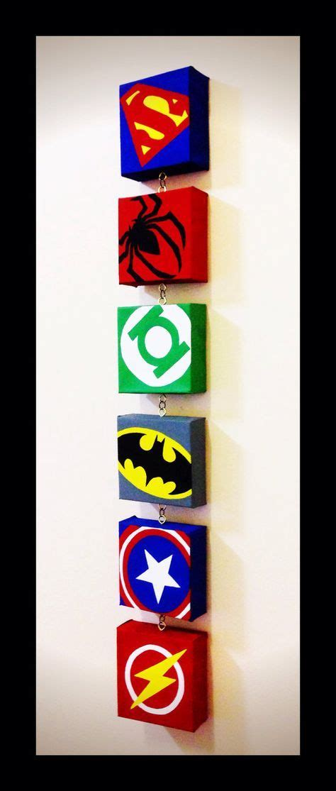 kinderzimmer ideen superhelden mini collection deko