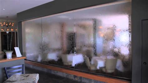 I Want To Be An Interior Designer glass panel waterfall vigilucci s youtube