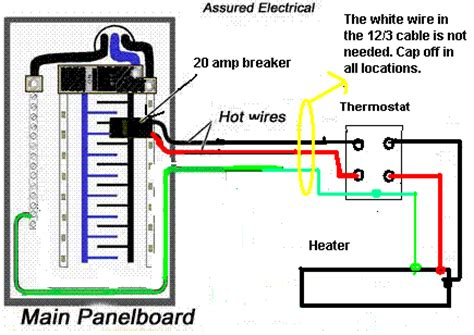 installing two baseboard heaters to one thermostat i am installing 1 8 1 6 and 2 4 baseboard heaters