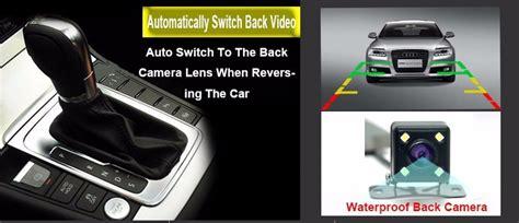 Kaca Spion Mobil Otomatis kaca spion dvr dual kamera 1080p 4 3 inch display black