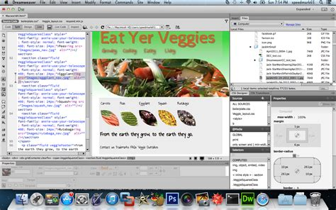 review adobe dreamweaver cc makes css more visual less