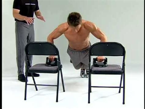 Chair Push Ups by Pushup Decline Chair Push Up
