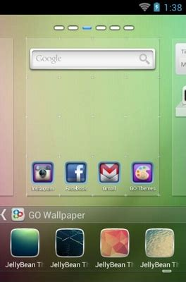best themes for android jelly bean jelly bean android theme for go launcher androidlooks com