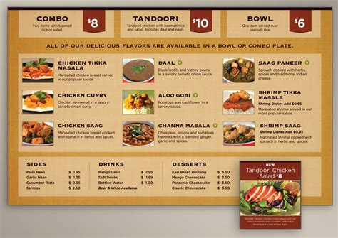 menu cuisine menu board design for indian food restaurant evolution