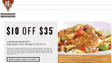 printable restaurant coupons august 2015 bjs coupons 10 off wicked ticketmaster coupon code