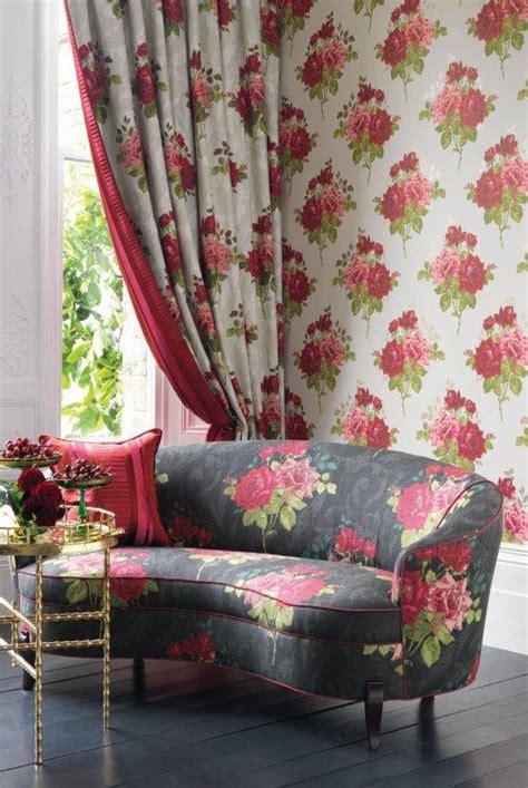 buy nina campbell paradiso rose alba fabric