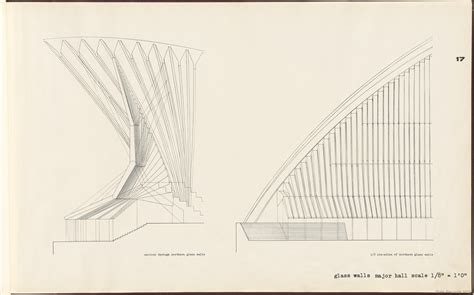 Glass House Floor Plans by Sydney Opera House Yellow Book State Records Nsw