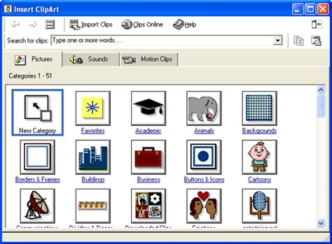 microsoft clipart 20 exles of clip and design