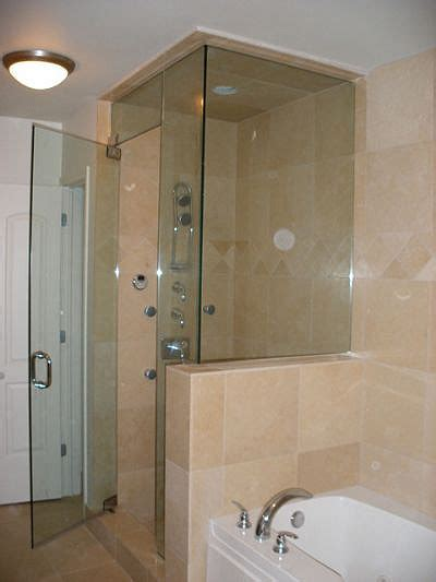 Frameless Steam Shower Doors Frameless Shower Door Installation Repair Md Va Dc
