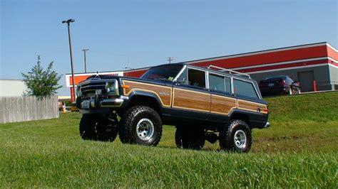 jeep wagoneer lifted jeep grand wagoneer questions will the fsj cherokee